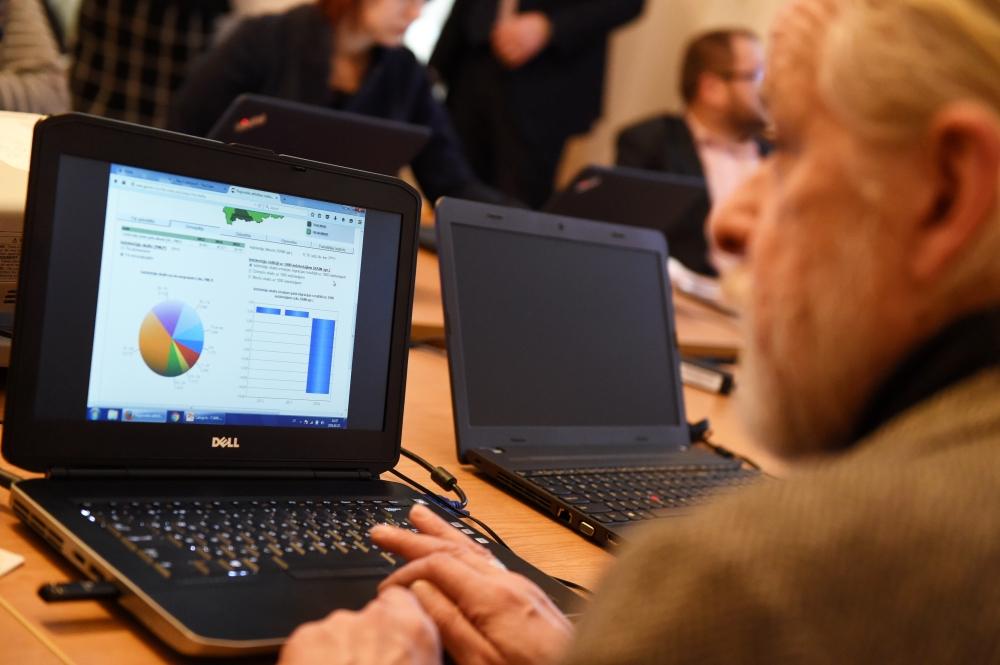 Pasākumā par visvairāk izmantotajiem valsts un pašvaldību e-pakalpojumiem.