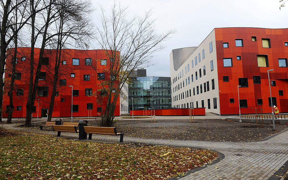 """VSIA """"Paula Stradiņa klīniskā universitātes slimnīca"""" jaunais korpuss."""