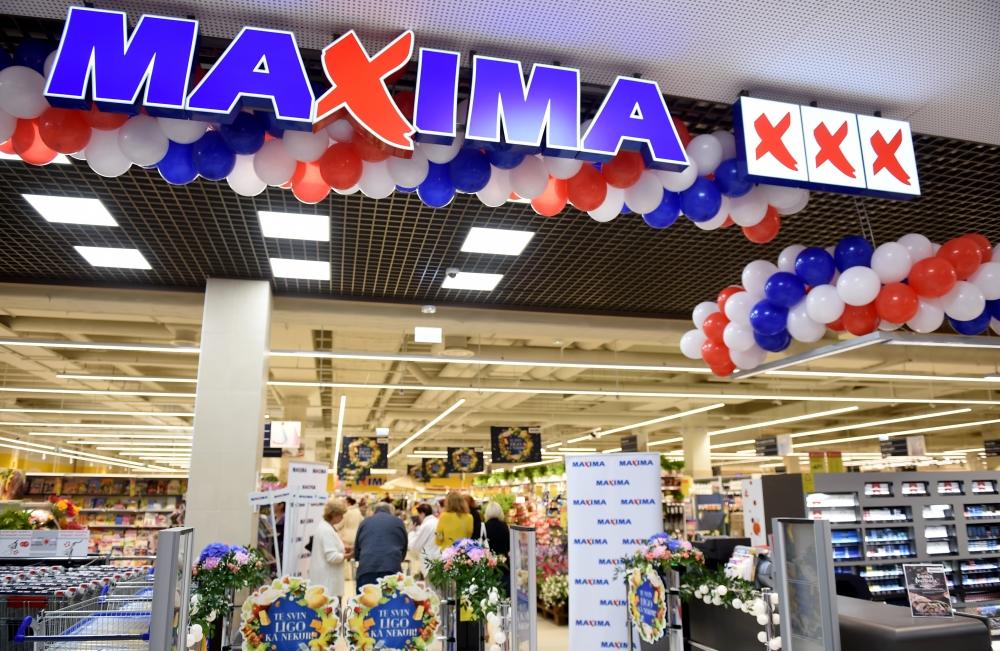 """""""Maxima"""" veikals."""