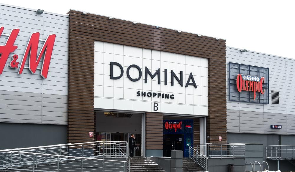 "Tirdzniecības centrs ""Domina Shopping""."