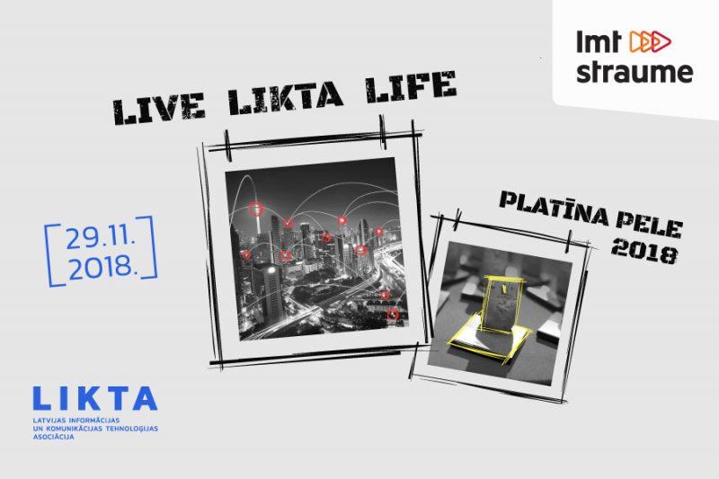 """LIKTA 20. jubilejas konference un """"Platīna Pele 2018"""" laureātu apbalvošana."""