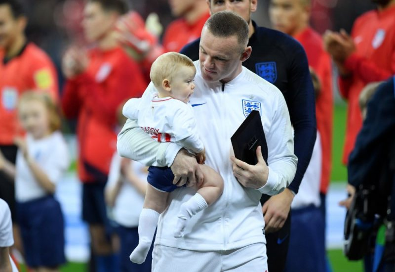 Wayne Rooney is proud of the England football team.