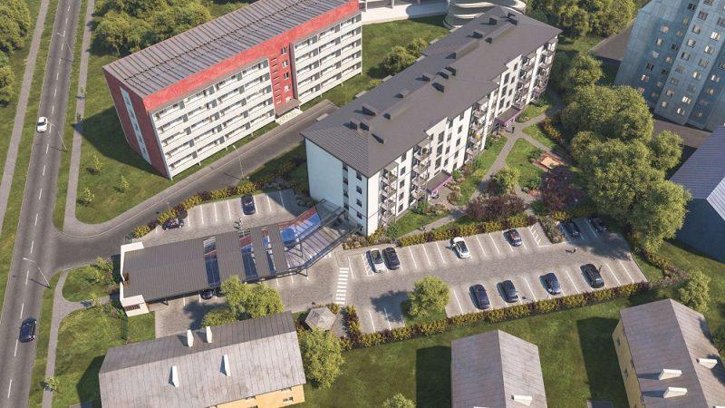 """""""Bonava Latvija"""" uzsācis jauna dzīvojamā nama būvniecību Purvciema centrā, Pūces ielā 19."""