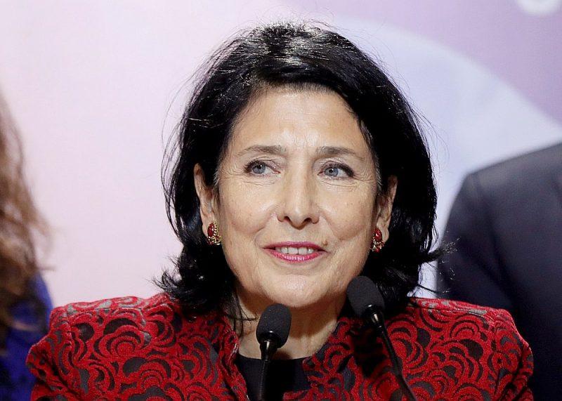Gruzijas prezidente Salome Zurabišvili.
