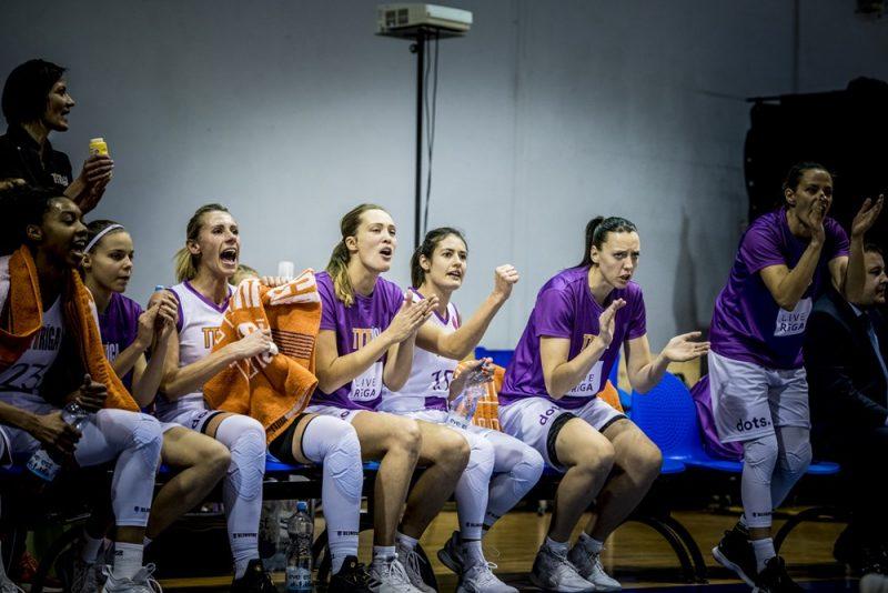 """""""TTT Rīga"""" basketbolistes ir uzvarējušas astoņās spēlēs pēc kārtas."""