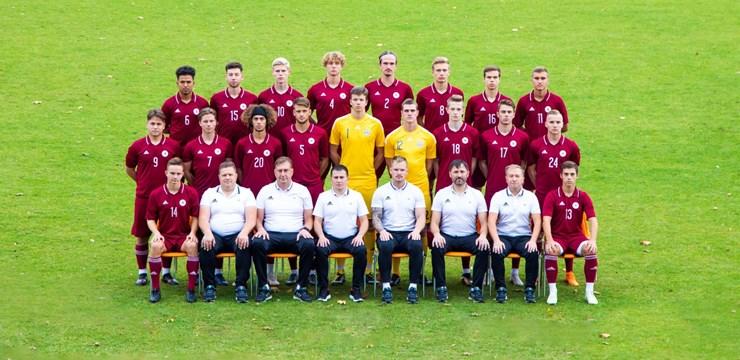 Latvijas U-19 futbola izlase.