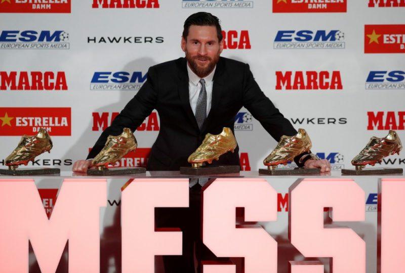 Lionels Mesi un viņa pieci futbolzābaki.