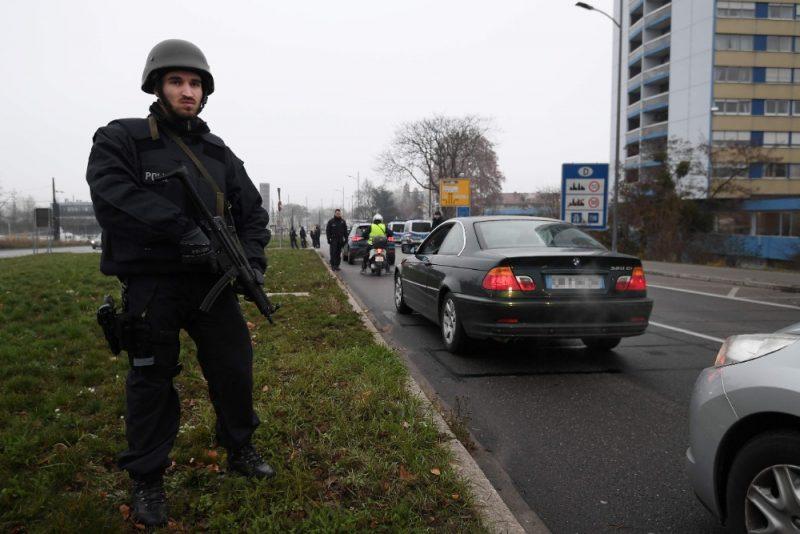 Strasbūra dienu pēc apšaudes.