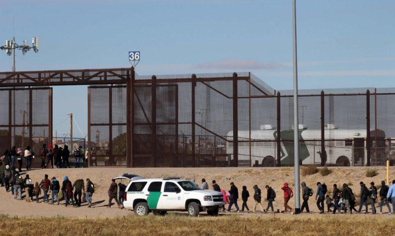 Migrantu karavāna uz Meksikas un ASV robežas, 04.12.2018.