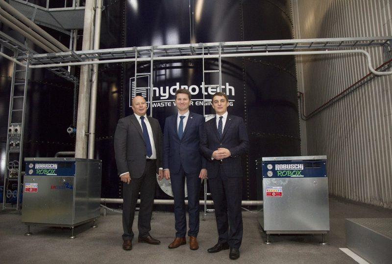 """Investējot 380 000 eiro, """"Ādažu Čipsu"""" ražotnē uzstāda notekūdeņu attīrīšanas iekārtas."""
