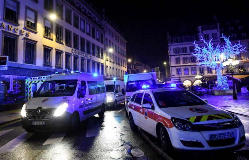 Apšaude Strasbūras Ziemassvētku tirdziņā, 12.12.2018.