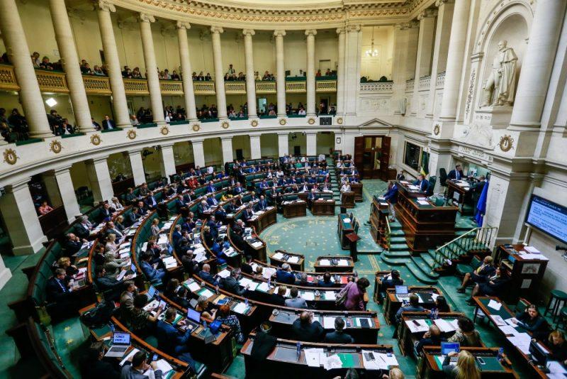 Beļģijas parlaments.