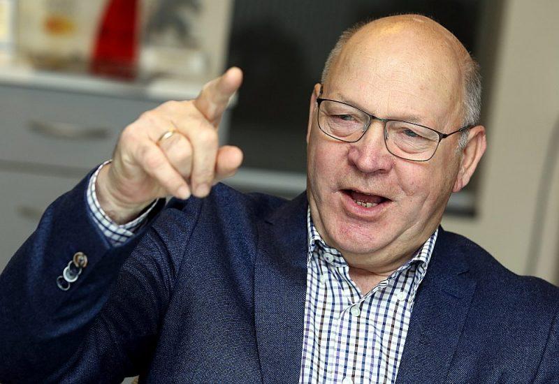 """AS """"Balticovo"""" padomes priekšsēdētājs Valdis Grimze:."""