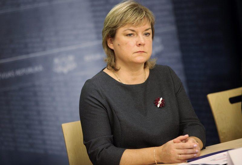 Valsts ieņēmuma dienesta Nodokļu pārvaldes direktora pienākumu izpildītāja Ilze Jankova.