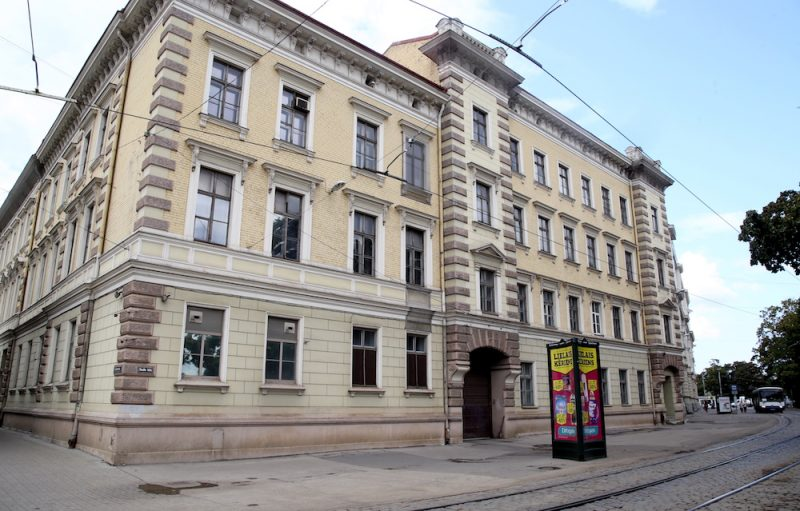 Centralizētā prokuratūras ēka Aspazijas bulvārī