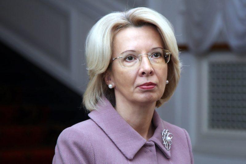 13.Saeimas priekšsēdētāja Ināra Mūrniece