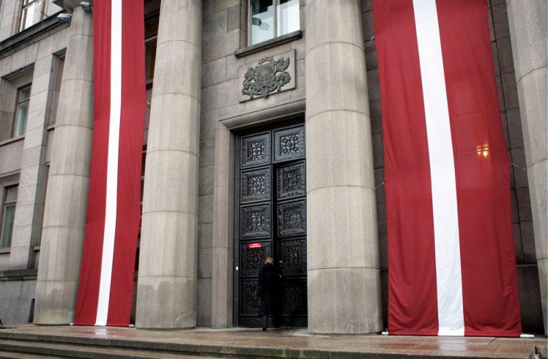 Ministru kabineta ēka Rīgā.