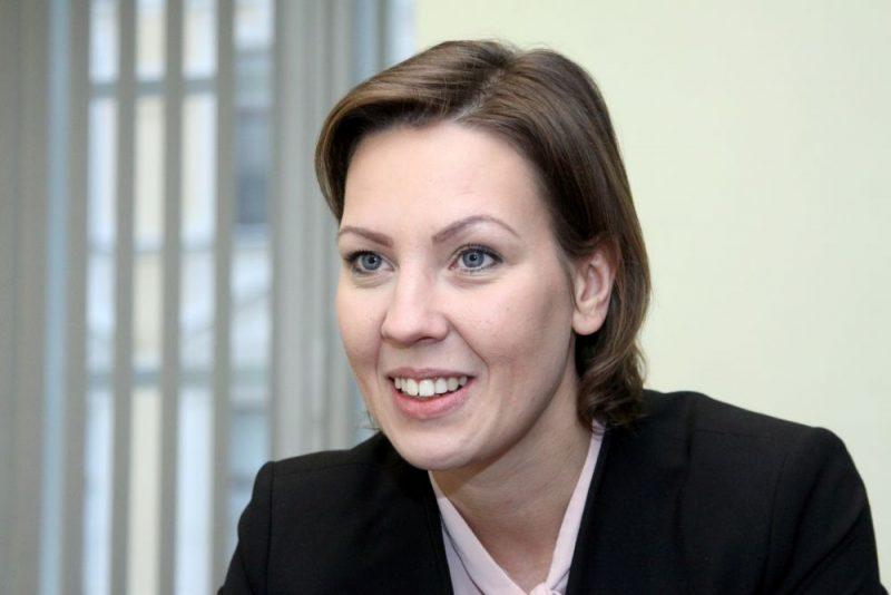 Saeimas JKP frakcijas deputāte Anita Muižniece