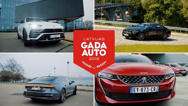 """""""Latvijas Gada auto""""."""