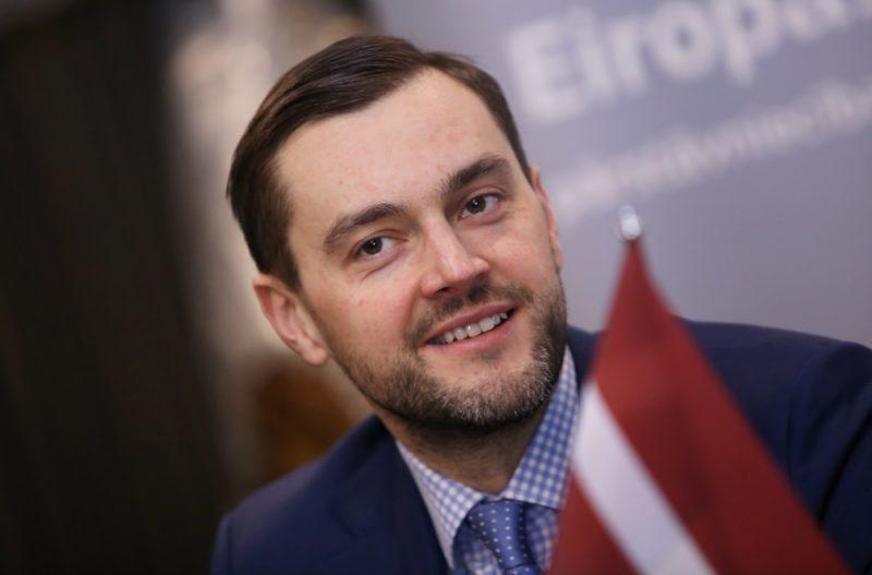 """AS """"Attīstības finanšu institūcija Altum"""" valdes priekšsēdētājs Reinis Bērziņš ."""