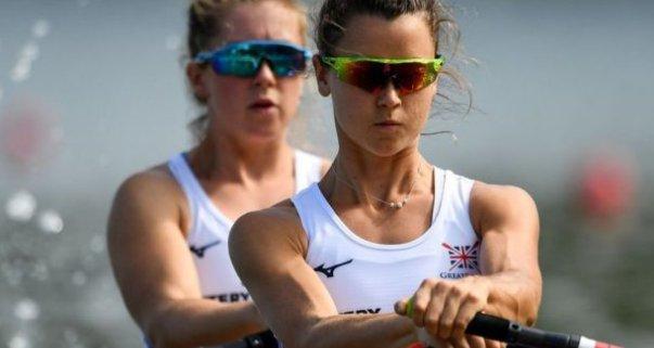 Daudzsološā britu airētāja Anna Torntone (priekšplānā) pērn pasaules čempionātā izcīnīja ceturto vietu.