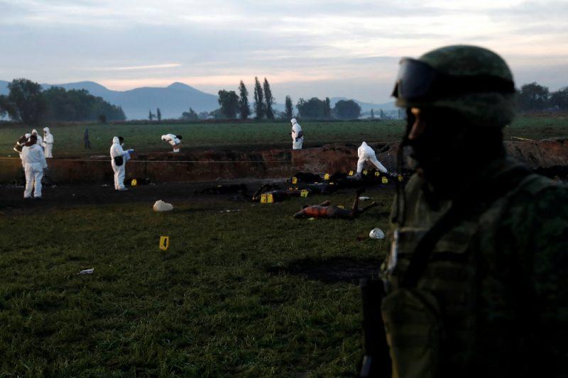 Meksikas vidienē noticis degvielas cauruļvada sprādziens.