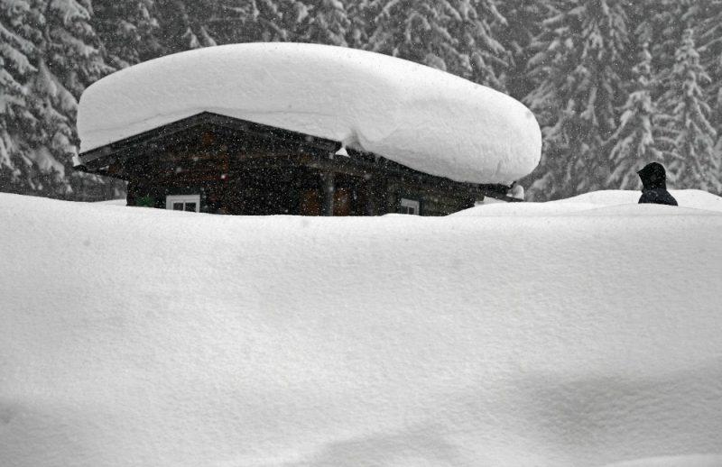 Sniegs Austrijā, Štīrijā, 08.01.2019.