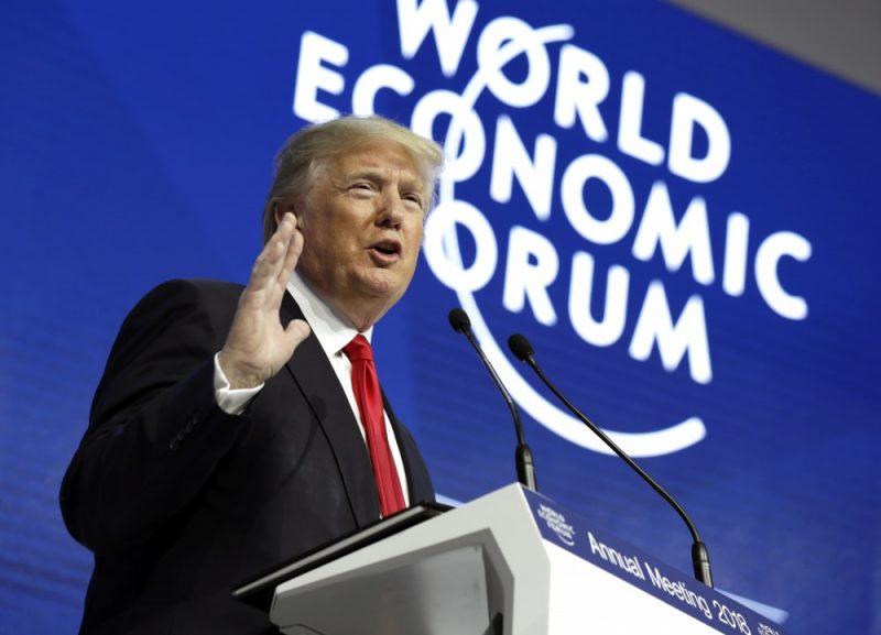 Donalds Tramps Davosā, 26.01.2018.