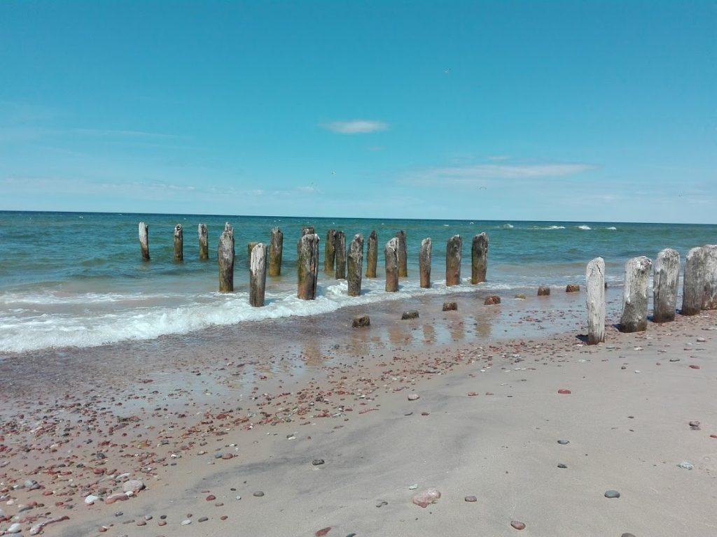 Baltijas jūra vasarā.