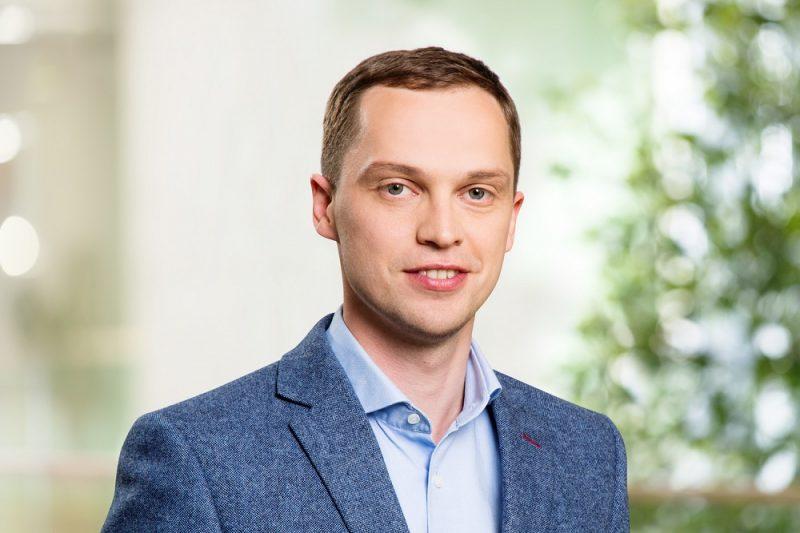 """Energouzņēmuma """"Enefit"""" valdes priekšsēdētājs Jānis Bethers"""