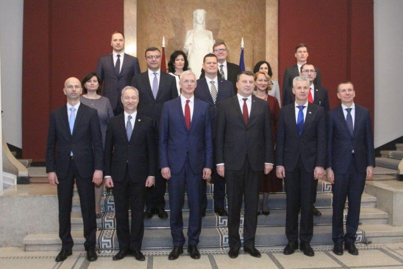 Premjera Krišjāņa Kariņa valdības pirmā svinīgā sēde, 23.01.2019.