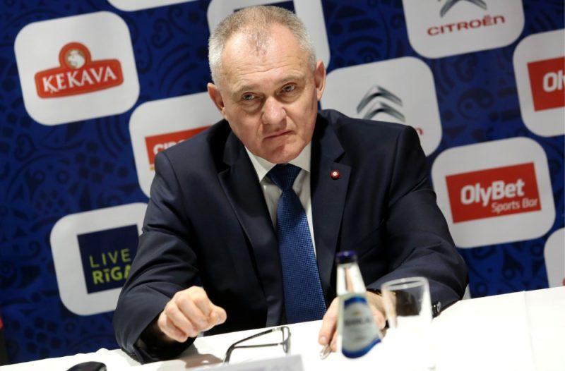 LBS prezidents Valdis Voins.