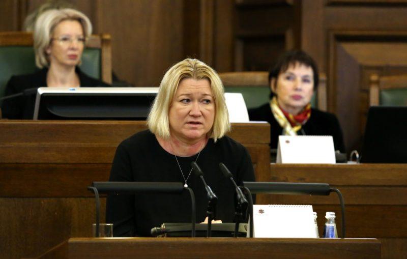 Saeimas deputāte Linda Liepiņa.
