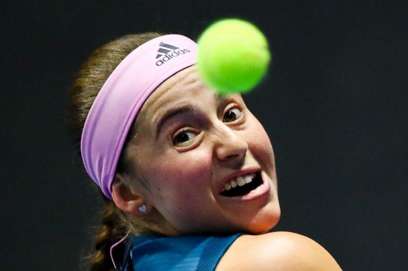 Aļona Ostapenko WTA tūrē tikusi pie otrās uzvaras šajā sezonā.