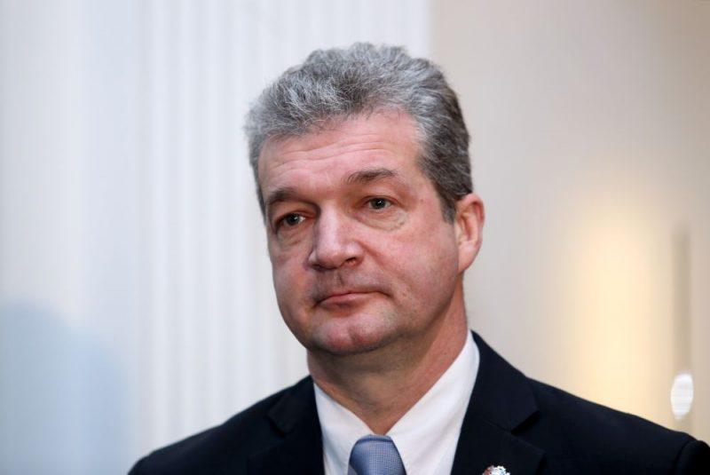 """Partijas """"KPV LV"""" Saeimas frakcijas priekšsēdētājs Atis Zakatistovs."""