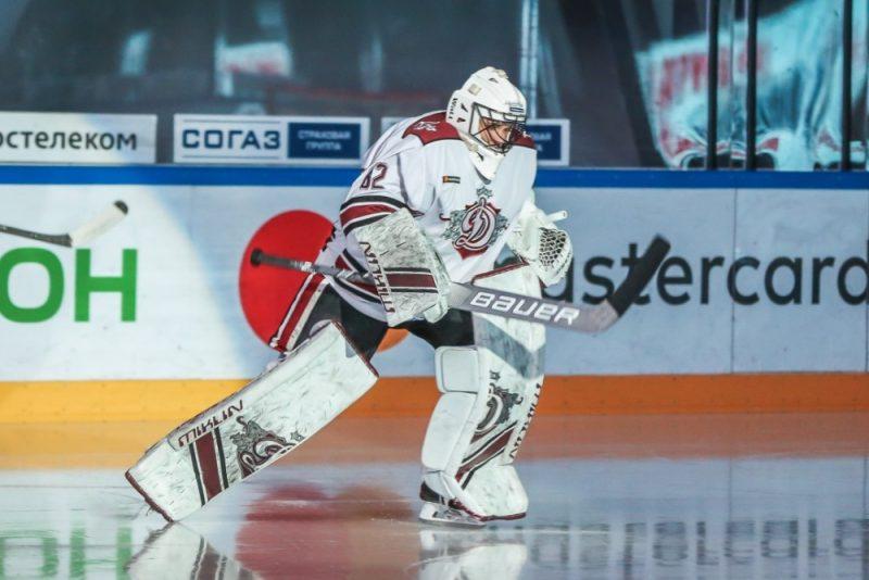 """Timurs Biļalovs aizvadīja labu sezonu Rīgas """"Dinamo"""" rindās."""