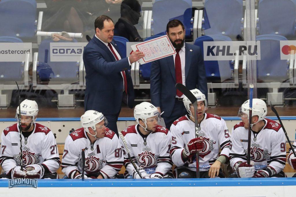 """Rīgas """"Dinamo"""" komandas soliņš."""