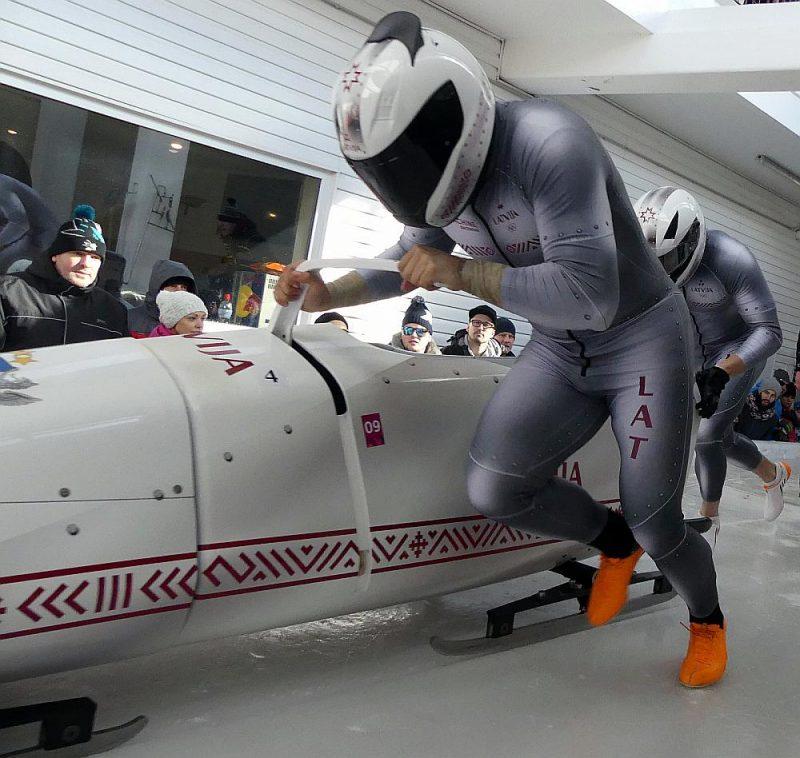 Latvijas bobslejisti
