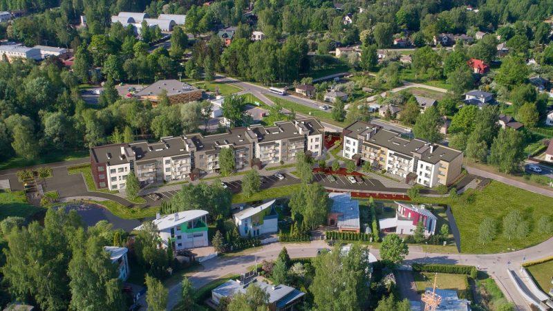Top perspektīvs daudzīvokļu māju komplekss Šampēterī.
