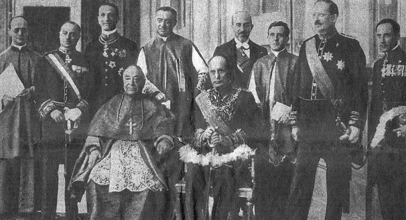 Laterānas vienošanās dalībnieki.