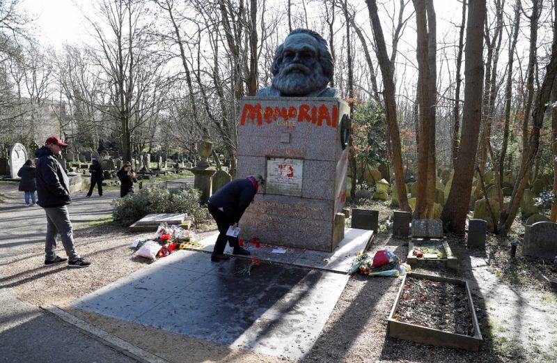 Kārļa Marksa kapavieta Londonā