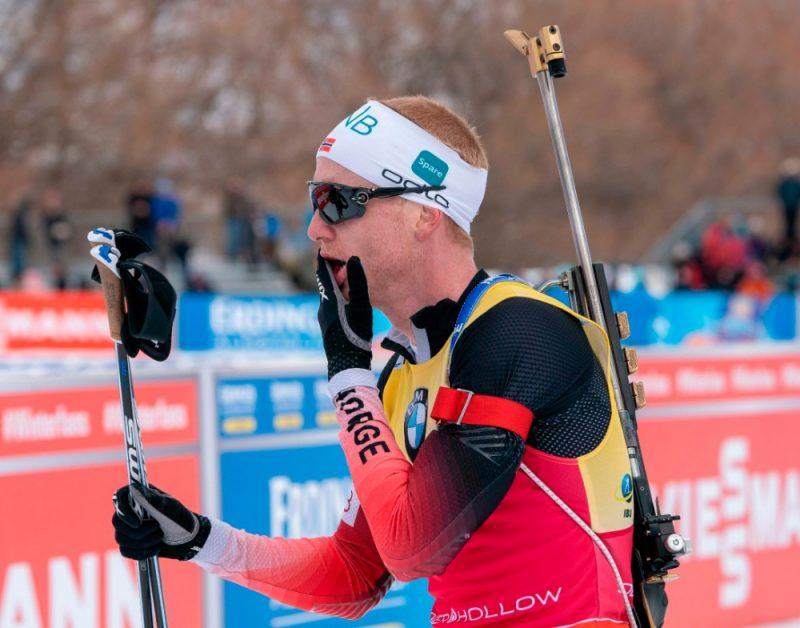 Norvēģu biatlonists Juhanness Tīngnēss Bē atzinies, ka pēdējā Pasaules kausa posmā ir blēdījies.
