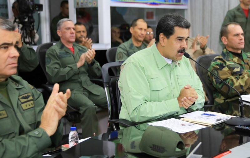 Nikolass Maduro (foto – vidū).