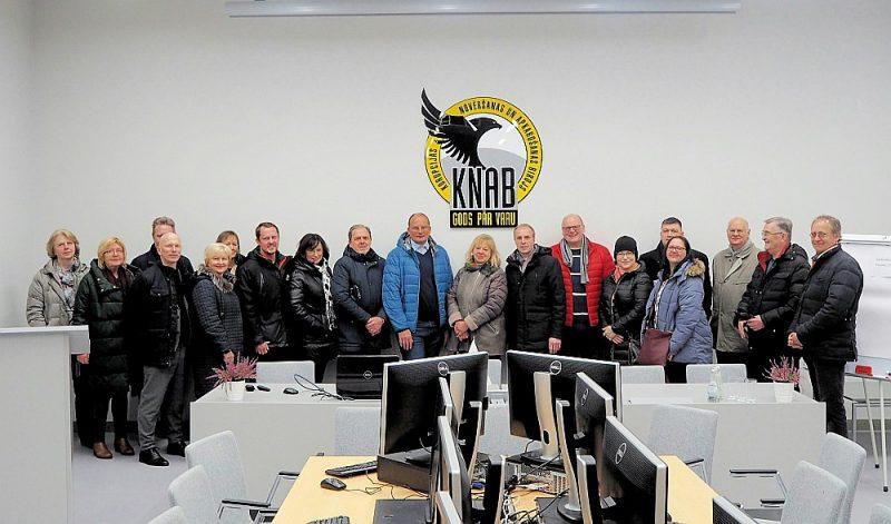 """Skates """"Gada labākā būve Latvijā 2018"""" žūrija KNAB telpās."""