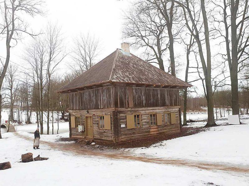 """Lielplatones muižas ansambļa ēkas """"Vešūzis"""" restaurācija."""