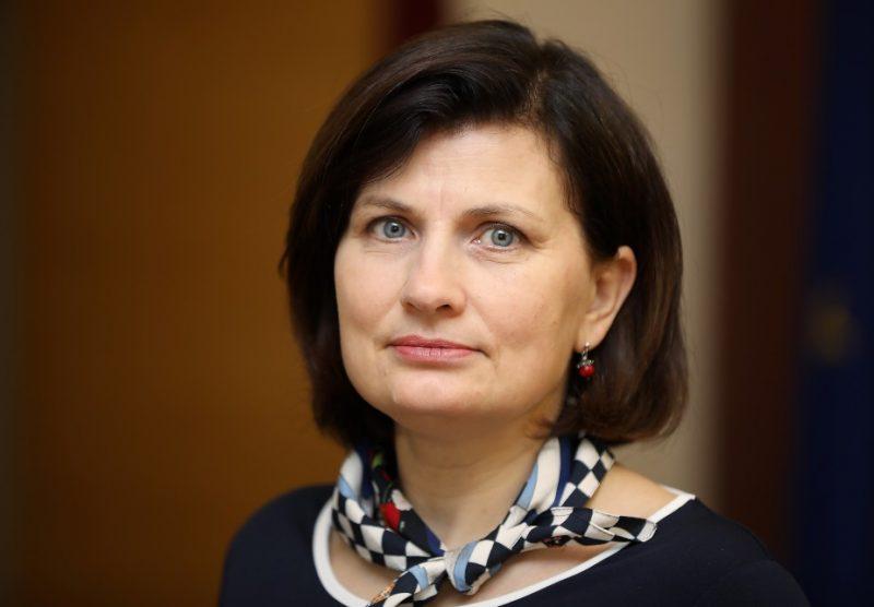 Veselības ministre Ilze Viņķele.