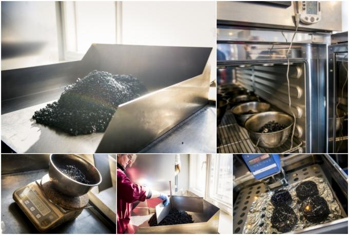 Kā LVC laboratorijā pārbauda aukstā asfalta maisījumus, kuri tiek izmantoti uz valsts autoceļiem.