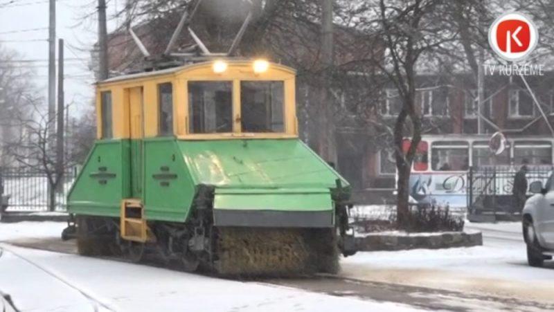 """Liepājās tramvaja """"Sniegbaltītei"""" aprit 65 gadi."""