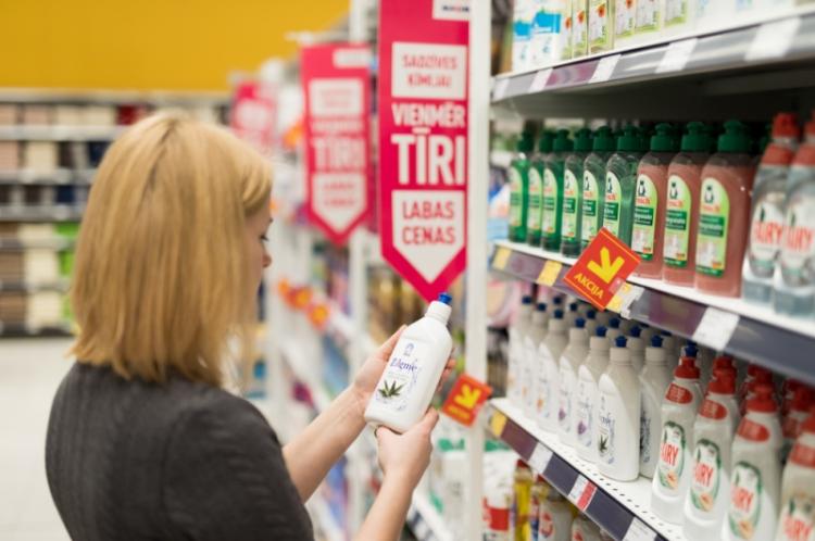 """""""Maxima"""" sadzīves ķīmijai samazina cenas līdz pat 48%."""