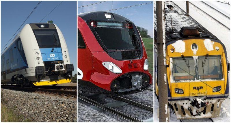 """""""Talgo"""" pārsūdzējis """"Pasažieru vilciena"""" lēmumu pirkt vilcienus no Čehijas """"Škoda Vagonka""""."""